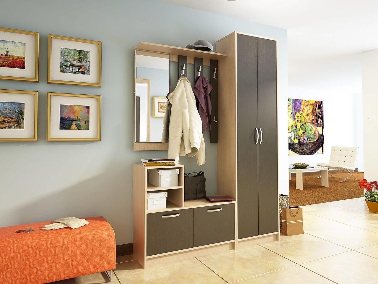 Мебель для прихожей по индивидуальным размерам на заказ в мо.